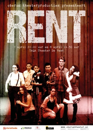 Poster REnt Oberon Theaterproducties 2018